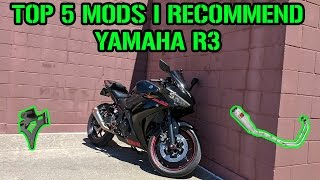 10. TOP 5 Mods For Your Yamaha R3
