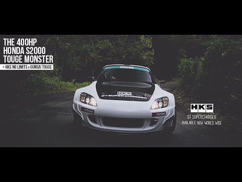 0 Blower Bliss: Attacking the Touge in a Supercharged Honda S2000 [Video]