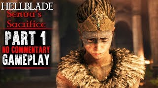 Hellblade Senua's Sacrifice  ultra settings 60fps. This is the part one where Senua will kill The God of illusion Valravn. Please take a seat and enjoy!!!-----------------------------------------------------------------------------------------------------------instagram: https://www.instagram.com/wajdi1987/Facebook : https://www.facebook.com/pr0t3ch/Twitter:https://twitter.com/g33kyworldWebsite :http://www.t3chpro.com/-----------------------------------------------------------------------------------------------------------Hellblade Senua's Sacrifice is an upcoming action-adventure video game developed and published by the British developer Ninja Theory. Scheduled for release on Microsoft Windows and PlayStation 4. The story is based on Celtic mythology and Norse mythology. The game is focused on Senua's (Melina Juergens) point of view, as she embarks on a very personal journey through a hellish underworld made up of Senua's psychotic manifestations of her reality and mind.