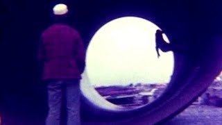 8. 1970s NZ skateboarding in pipes