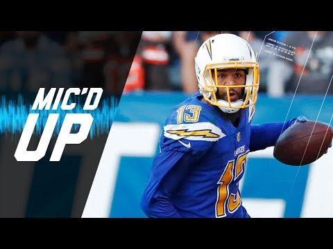 Video: Keenan Allen Mic'd Up vs. Browns