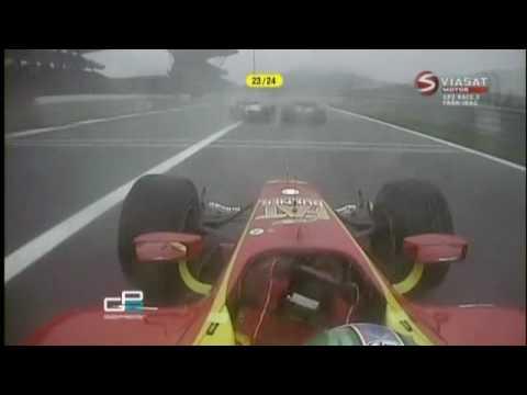 Nico Hulkenberg en la GP2 de 2009