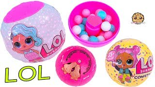 Video LOL Surprise Confetti POP Blind Bag Dolls + Ball Game MP3, 3GP, MP4, WEBM, AVI, FLV November 2018