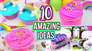 Video 10 FUN Things To Do When You're BORED! DIY Slime,  DIY ROOM DECOR! What To Do When Your Bored! MP3, 3GP, MP4, WEBM, AVI, FLV Mei 2018