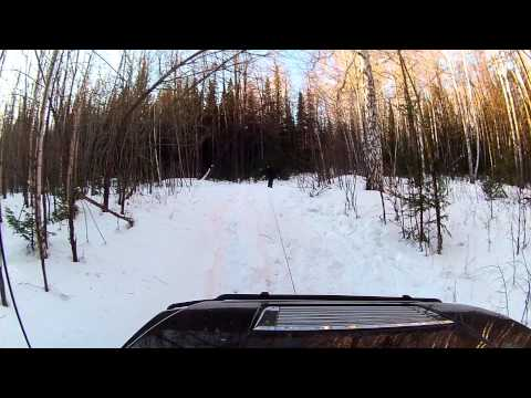 Hummer и гора Ицыл (тест лебедки HorseWinch SC 12000)
