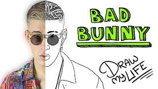 Video BAD BUNNY | Draw My Life MP3, 3GP, MP4, WEBM, AVI, FLV November 2017