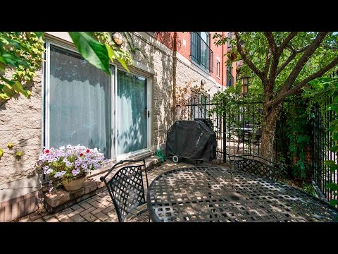 A sunny 2-bedroom, 2-bath duplex on the 606 Bloomingdale Trail