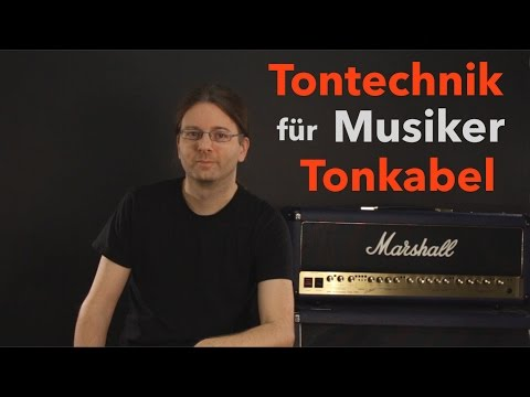 Tontechnik für Musiker: Audiokabel