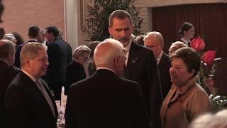 """S.M. el Rey, en Aquisgrán para asistir al """"Premio Internacional Carlomagno 2019"""""""