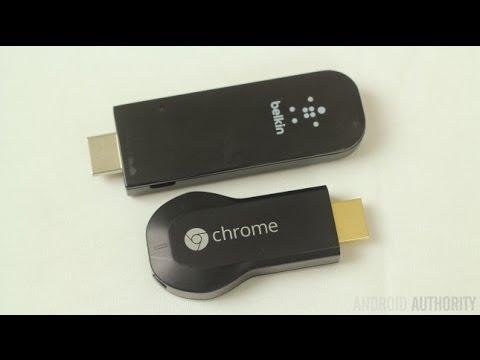 Chromecast vs Belkin Miracast