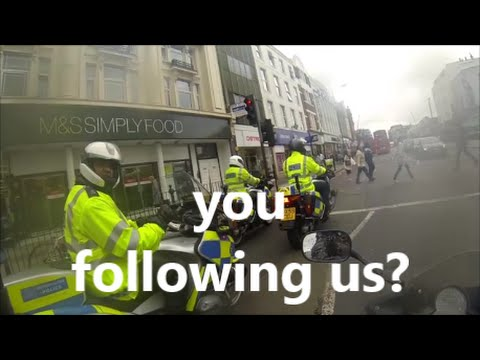 ACCIDENTAL ESCORT BY LONDON POLICE