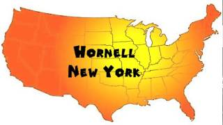 Hornell (NY) United States  city photos : How to Say or Pronounce USA Cities — Hornell, New York