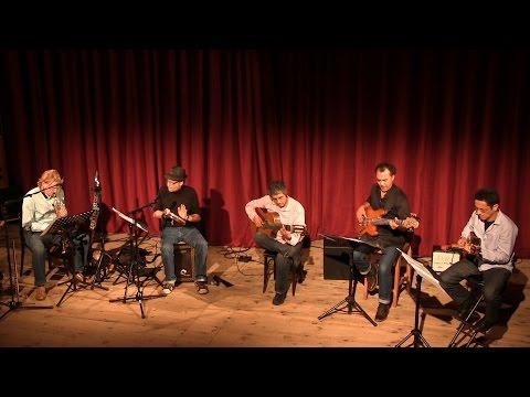 Rogerio Souza Berlin Quintet live (Receita de Samba / Jacob do Bandolim)