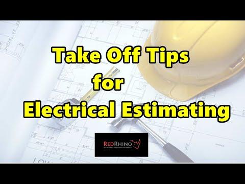 EG 2 Take Off Tips for electrical estimating