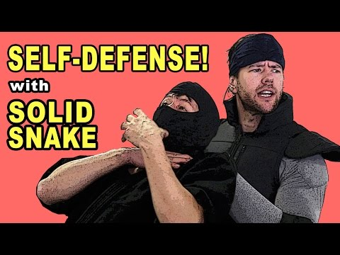 Solid Snake Teaches Self Defense