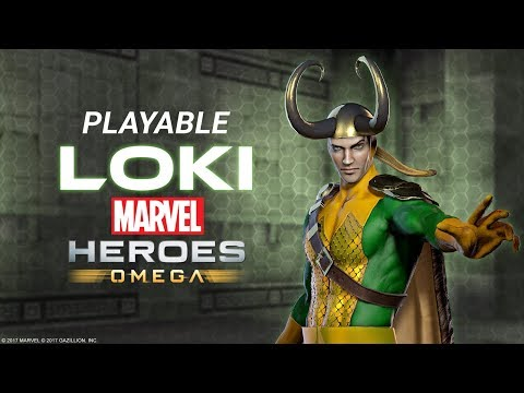 Loki Joins Marvel Heroes Omega for PS4 and Xbox One!