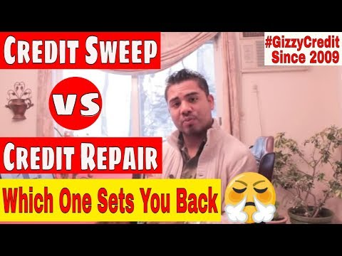 0 The Difference Between credit sweep and Traditional way of doing Credit Repair #gizzycreditsong