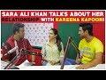 Sara Ali Khan Tas About Her Relationship With Kareena Kapoor!