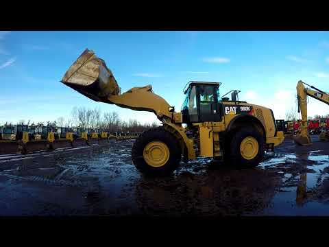 CATERPILLAR WHEEL LOADERS/INTEGRATED TOOLCARRIERS 980K equipment video hok6kZkTEIc