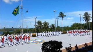 Cerimônia em comemoração aoo Dia do Marinheiro realizada na Base Naval de Natal-RN.
