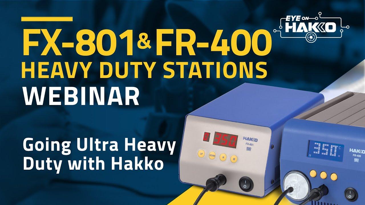 """""""Eye On Hakko"""" presents """"Going Ultra Heavy Duty with HAKKO"""""""
