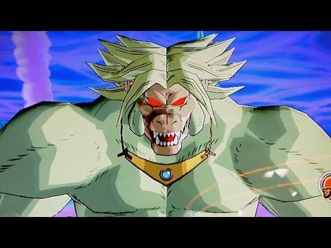 dragon ball budokai 4: ozaru broly !!!
