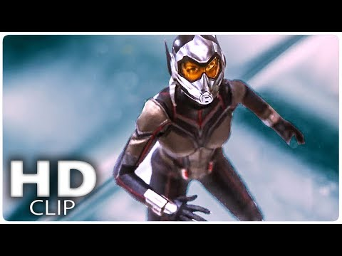 """ANT MAN AND THE WASP """"Wasp Fight"""" Clip (2018)"""