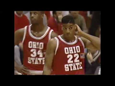 Buckeye Basketball: #4 Ohio State 93, #3 Indiana 85 (January 21, 1991)