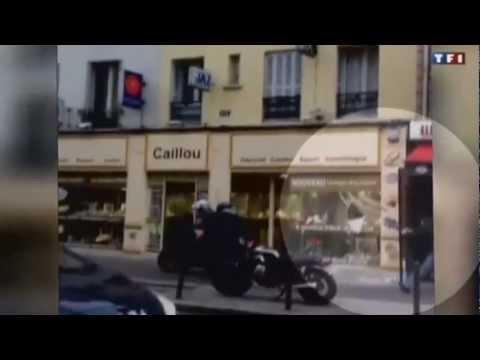 Braquage à Paris avec une disqueuse