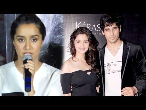 Shraddha Kapoor's Surprising REACTION On Sidharth