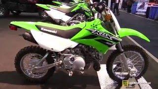 7. 2016 Kawasaki KLX110 - Walkaround - 2015 Toronto ATV Show