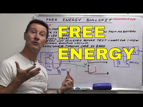 energy - Are the laws of physics being bent? Dave explains why free energy / over unity / quantum vacuum circuits are bullshit. And how to find out what's really happening here by using basic engineering...