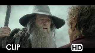 The Hobbit: The Desolation of Smaug Movie CLIP - Courage (2013) - LOTR Movie HD