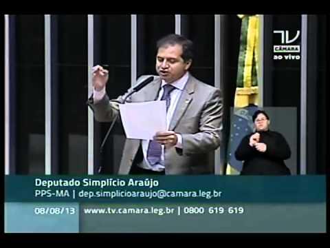 08/08/2013 – Parecer sobre a cassação da governadora Roseana Sarney. Dep. Simplício Araújo