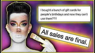 Video JAMES CHARLES WILL NOT BE ISSUING REFUNDS FOR TOUR & SISTERS APPAREL MP3, 3GP, MP4, WEBM, AVI, FLV September 2019