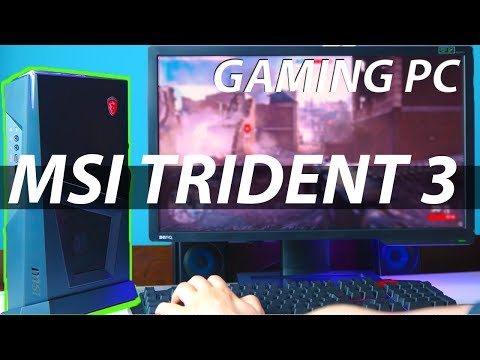 Small, Effective and Powerful Gaming PC - MSI Trident 3 Review