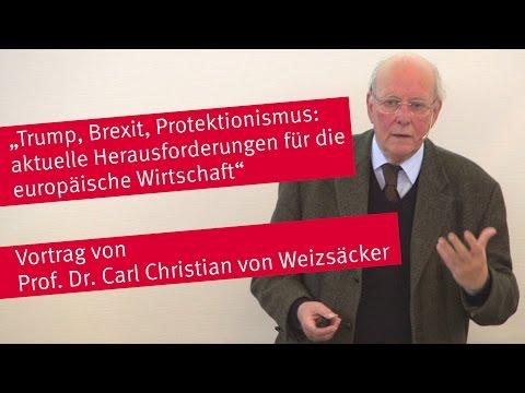 """Vortrag """"Trump, Brexit, Protektionismus: aktuelle Herausforderungen für die europäische Wirtschaft"""""""
