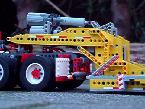 Lego lowboy trailer