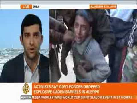 Al Jazeera- Barrel bombs in Aleppo