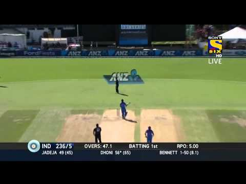 Video MS Dhoni 79 of 73 balls Highlights HD | India vs New Zealand | 4th odi 28 jan 2014 download in MP3, 3GP, MP4, WEBM, AVI, FLV January 2017