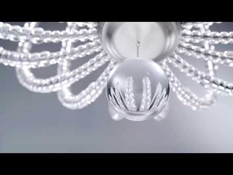 Video for Oberlin Satin Nickel 32-Inch LED Pendant