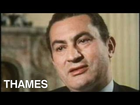 mubarak - Two extracts on an exclusive interview with the Egyptian President, Hosni Mubarak. Filmed by Thames Televisions 'TV EYE' in 1981; shortly after the assassina...