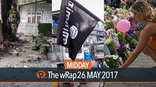 Today on Rappler: Terror groups harass military camp in Marawi. Admit ISIS presence in the Philippines, analyst says. Manchester crowd sings 'Don't Look Back ...