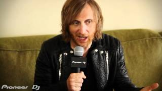 Pioneer DJ talks with David Guetta