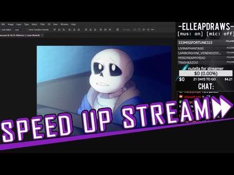 Speed Up Stream ✦ Look! A Meteor Shower! [09/08/2018]