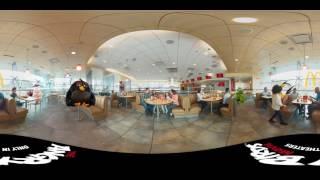 McDonald's: Angry Birds - 360° video