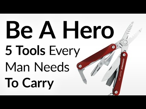 Be The Hero | 5 Items Every Man Should Carry To Save The Day | Everyday Emergency Preparation