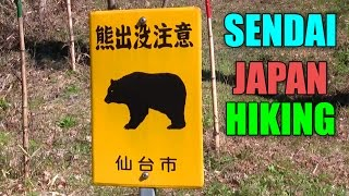 Sendai Japan  city pictures gallery : Sendai, Japan Hiking in CRAZY WIND (JAPAN VLOG)