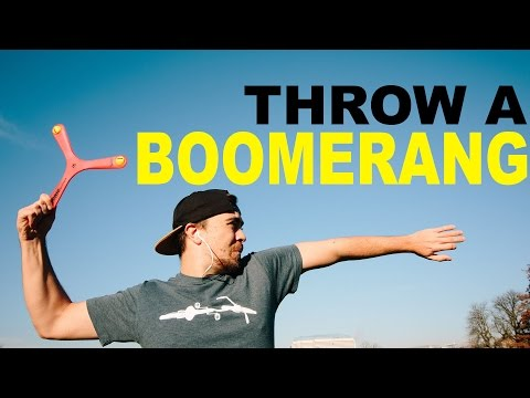 How long time to learn to throw a boomerang