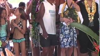 Aloha Teddy Bear! memorial paddle out Makaha